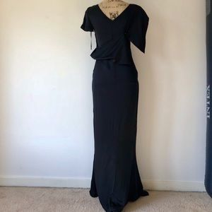 Authentic CHANEL maxi evening dress